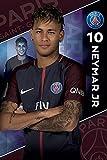 Paris Saint Germain - Soccer Poster / Print (Neymar Jr. - PSG #10 - 2017 / 2018) (Size: 24'' x 36'') (By POSTER STOP ONLINE)