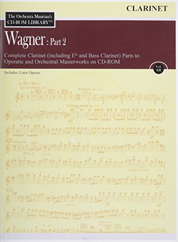 Orchestra Musician's CD-ROM Library Vol. 12 Wagner Part 2 Clarinet