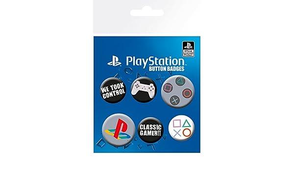 Clasica Playstation Pack de Chapas GB Eye LTD