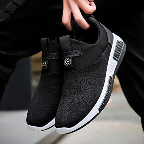 Männer Sportschuhe Leinwand der Sneaker Weiß Herren Sneakers Herren Sommer Niedrige Sneaker Mode Männer DOGZI Herren Sneakers Gymnastikschuhe 1Azdqzw