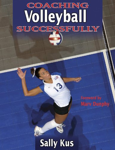 Coaching Volleyball Successfully (Coaching Successfully Series) by Brand: Human Kinetics