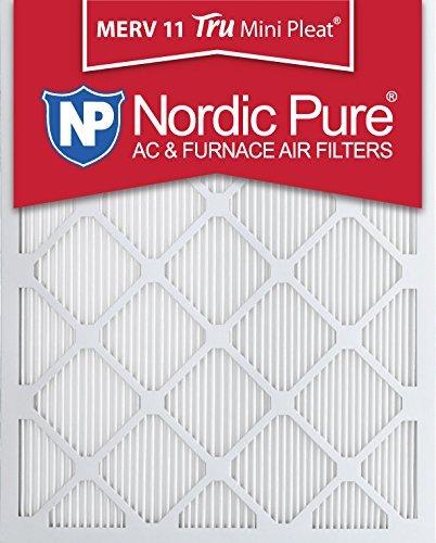 Pure 14x20x1M11MiniPleat-6 Mini Pleat MERV 11 AC Furnace Air Filters, 14-Inch x 20-Inch x 1-Inch, 6-Pack [並行輸入品]