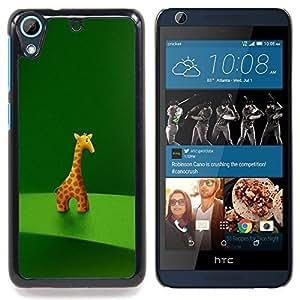 For HTC Desire 626 & 626s - Giraffe Figurine Art Drawing Cartoon Character Animal /Modelo de la piel protectora de la cubierta del caso/ - Super Marley Shop -