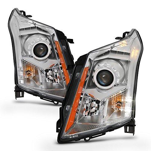 ACANII - For Driver + Passenger Side Headlamps 2010-2016 Cadillac SRX Factory Halogen Model Headlights