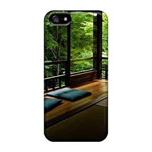 Protective Tpu Case With Fashion Design For Iphone 5/5s (unbelievable View)