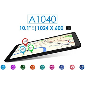 """Azpen A1040 10.1"""" Quad Core 8GB Android Tablet with Bluetooth GPS HDMI Dual Cameras"""