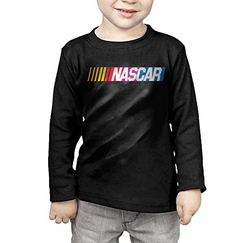 Season Long Sleeve Tee - Little Boys Girls NASCAR Chase The Cup Sprint Cup Series Long Sleeve T Shirt-Black