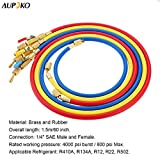 Refrigerant A/C Charging Hoses with Ball