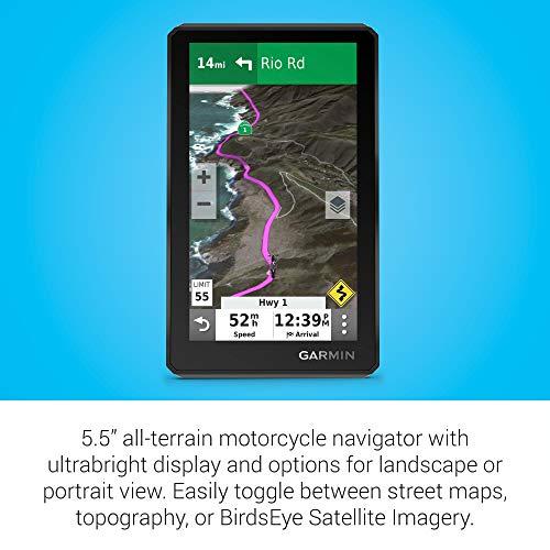 Garmin zumo XT, All-Terrain Motorcycle GPS Navigation Device