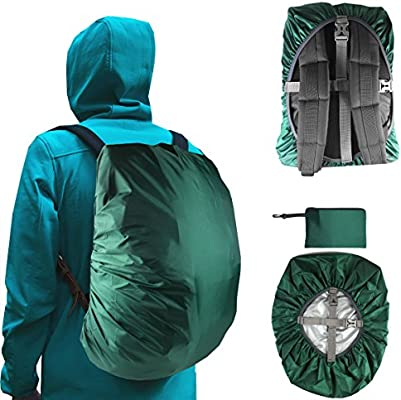 184b97e4c425 Frelaxy Waterproof Backpack Rain Cover (15-90L), Upgraded Vertical ...