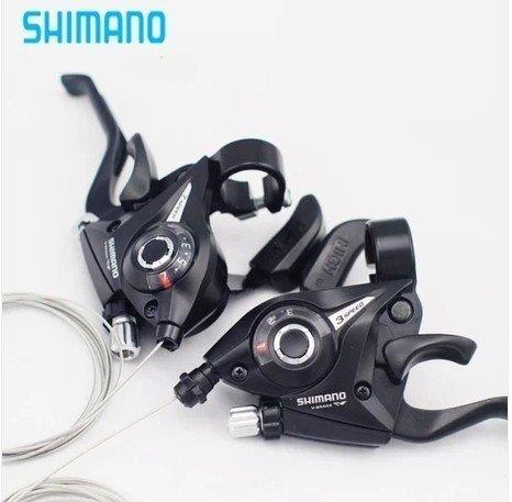 Shimano EF51 Brems-/Schalthebel Rapid Fire mit Ganganzeige,3-Fach 7-Fach,links&rechts