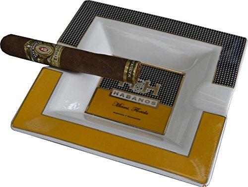Extravaganza Collection - Square Cigar Ashtray (Ashtray Porcelain)