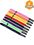 Gejoy 8 Pieces Adjustable Sunglasses Straps Floating Foam Glasses Straps Sports Eyeglass Retainer and 2 Pieces Glasses Cleaning Cloth for Sports Outdoor Activities