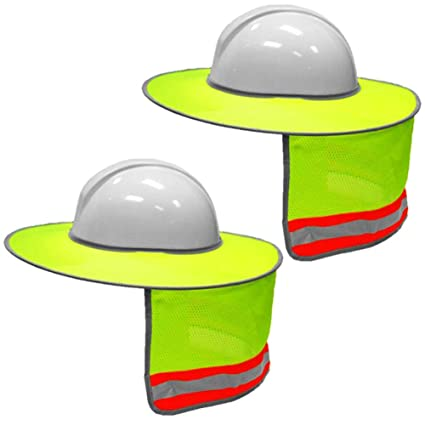 41999c4c09b Image Unavailable. Image not available for. Color  2 Pack Hard Hat Sun  Shield