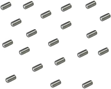A2 Llaves de acero inoxidable 100 unidades de cabeza tornillos M4 4 mm X 20 mm