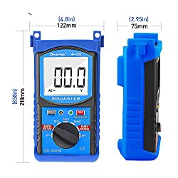 HoldPeak HP-4300 Ground Resistance Tester LCD Digital Earth Resistance Voltage Megohmmeter Voltmeter with Auto Back Light and Data Hold
