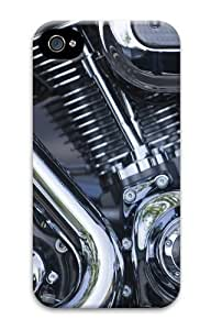 iPhone 4S Cases & Covers -V Twin Engine11 PC case Cover for iPhone 4 and iPhone 4S 3D
