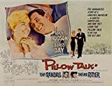 "Pillow Talk, Rock Hudson, Doris Day, Tony Randall, Thelma Ritter, 1959 - Premium Movie Poster Reprint 16"" by 12"" Unframed"