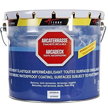 Produit Détanchéité Terrasse Balcon Peinture Décorative Résine - Etancheite toiture terrasse circulable