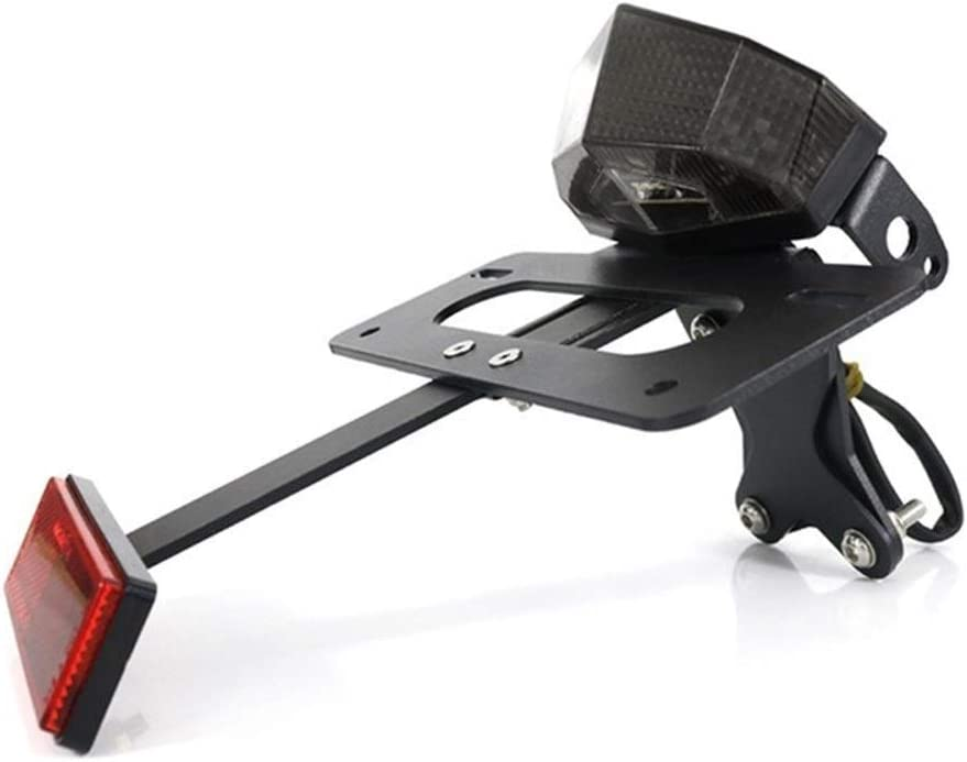 Color : Clear For KTM 890 Duke R 2020 790 2018 2019 2020 Duque de Cola Trasera de Tidy Fender Eliminator Kit de Registro de Licencia Soporte de Chapa de fijaci/ón de
