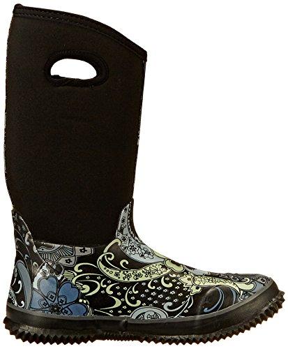 Roper Women's Barnyard Prints Rain Shoe, Black, 9 M US Photo #5