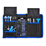 Wireless : 80 in 1 Precision Screwdriver Set,Magnetic Screwdriver Bit Kit,Professional Electronics Repair Tool Kit with Flexible Shaft,Portable Bag for PS4/Laptop/iPhone8/Computer/Phone/Xbox/Tablets/Camera/Watch