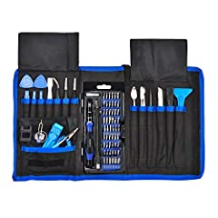 If you're looking for a small toolkit and you plan on doing a lot of electronics maintenance, UnaMela screwdriver set is a seriously consider. Driver kit include all current common and specialty bits, More accessories,egs for Magnetizing and ...