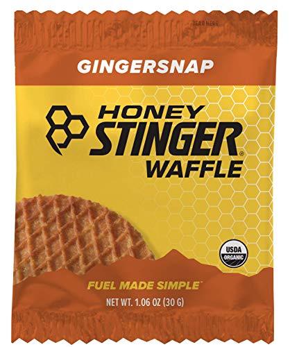 Honey Stinger Organic Waffle, Gingersnap, 1.06 Ounce (Pack of 16)