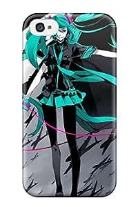 Pamela Diy Best hatsune miku Anime Pop Culture Hard WDnd40ScMXP Plastic iPhone 4/4s case covers