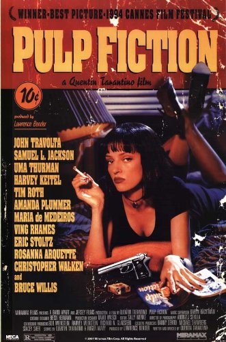 Pulp Fiction  Poster 24x36