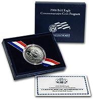 2008 S Bald Eagle Commemorative Proof 50c Half Dollar DCAM OGP Box w/COA US Mint