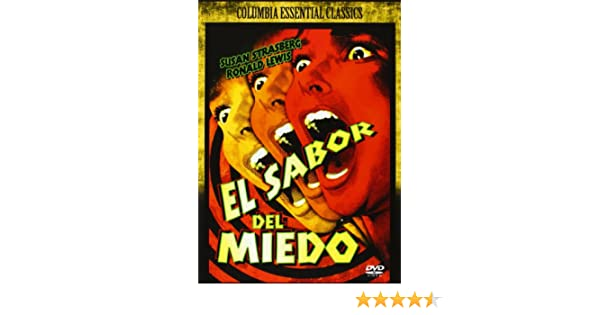 El Sabor Del Miedo [DVD]: Amazon.es: Susan Strasberg, Ronald Lewis, Ann Todd, Christopher Lee, John Serret, Leonard Sachs, Seth Holt, Jimmy Sangster: Cine y ...