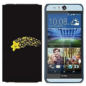 TECHCASE---Cubierta de la caja de protección para la piel dura ** HTC Desire Eye ( M910x ) ** --Divertido Flying Star