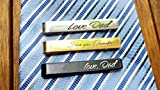 Custom Tie Clip - Engraved Tie Bar, Personalized Tie Clip, Gifts for...