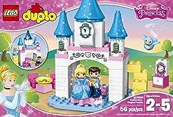 LEGO DUPLO Disney Princess Cinderella's Magical Castle 10855, Preschool, Pre-Kindergarten, Large Building Block Toys for Toddlers