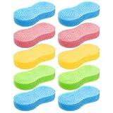 Best Car Wash Sponges - Car Wash Sponge, ELSIOAN 10pcs Soft Bone Design Review