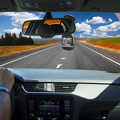 Actionpie Dash Cam 1080P Car DVR Dashboard Camera Full HD Recorder, G-sensor, WDR, Loop Recording, (BLACK) by Actionpie (Image #4)