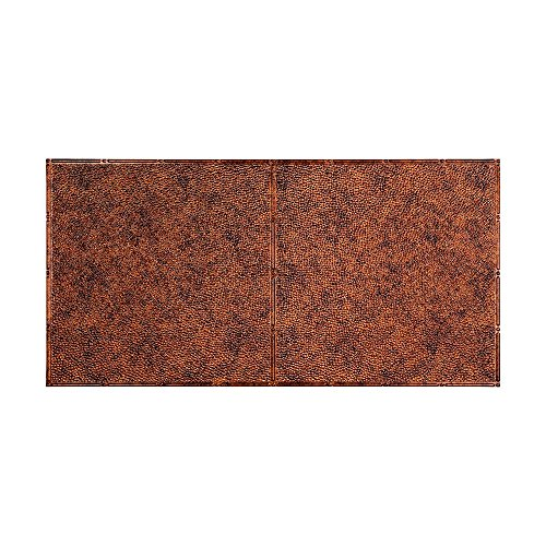 FASÄDE Easy Installation Border Fill Moonstone Copper Glue Up Ceiling Tile/Ceiling Panel (2' x 4' Tile)