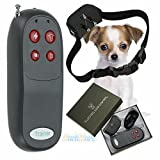 Training Dog Collar - 4 In 1 Remote Small/Med Dog Training Shock Vibrate Collar Trainer Safe For Pet