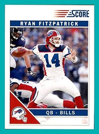 low priced 1c00d 97233 2011 Score GLOSSY #37 Ryan Fitzpatrick BUFFALO BILLS HARVARD ...