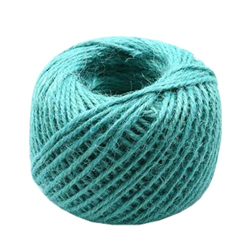 Hand Knitting Hemp Rope DIY Satin Ribbon Decorative Riband Twine S by Kylin Express