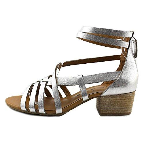 Nina Originals Women's Victor Dress Sandal Silver Vachetta O7TLfnA