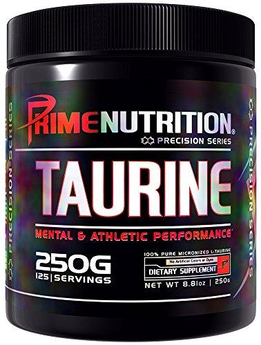 Prime Nutrition Taurine Supplement, 250 Gram