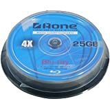 Aone Blu-Ray 10pcs Cakebox, BDR-FF-10C 25GB Full Face Printable