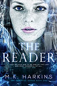 The Reader by MK Harkins ebook deal