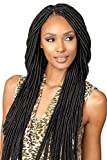 SENEGAL FAUX LOCS DREAD 20' (1 Jet Black) - Bobbi Boss Synthetic Crochet Interlocking Braid