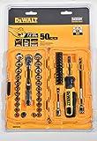 DeWALT DWMT81610 50 Piece Mechanics Tool Set Kit