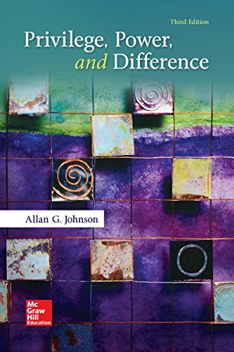 Privilege, Power, and Difference (B&B Sociology)