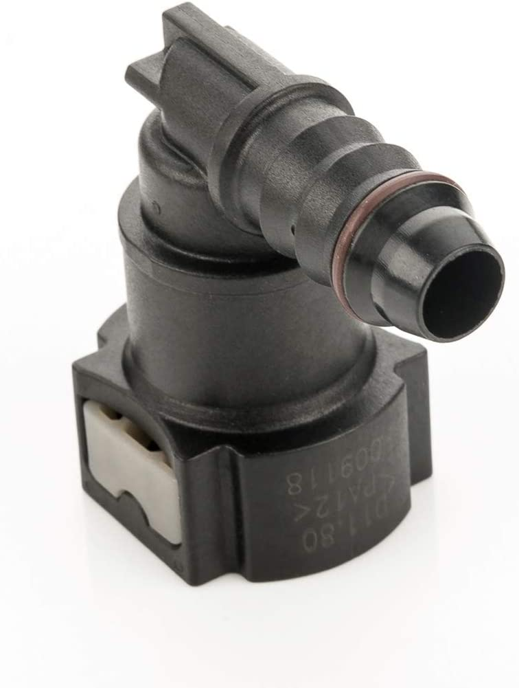 LST Kraftstoffleitung Verbinder Schlauchkupplung Schnellverschluss 11,8 mm 90/°