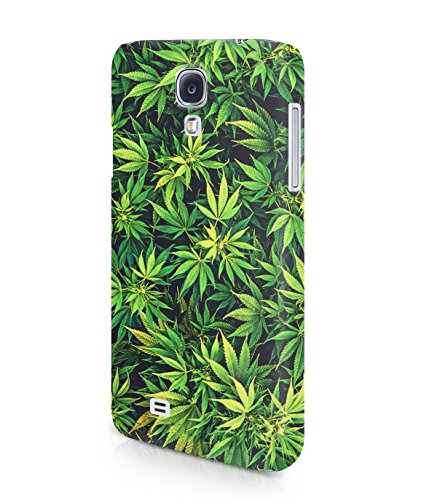 Weed Mary Jane Leaves Plastic Snap-On Case Cover Shell For Samsung Galaxy S4